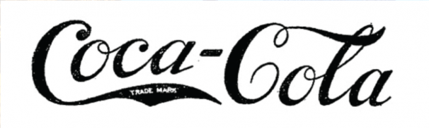 Coca Cola first logo