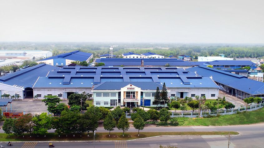 Nhà máy sản xuất đệm Kymdan