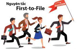 """Nguyên tắc nộp đơn đầu tiên """"first to file"""""""