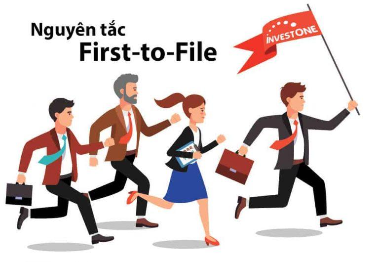 """Nguyên tắc nộp đơn đầu tiên """"first to file"""" trong Sở hữu trí tuệ"""