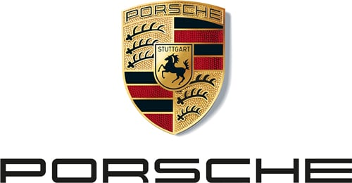 Logo xe Porsche