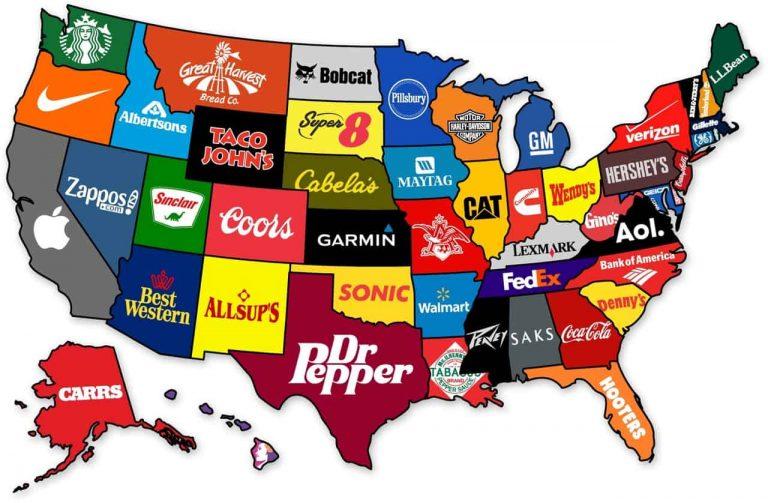 Nhãn hiệu nổi tiếng tại Mỹ