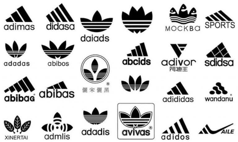 Những logo nhái thương hiệu Adidas
