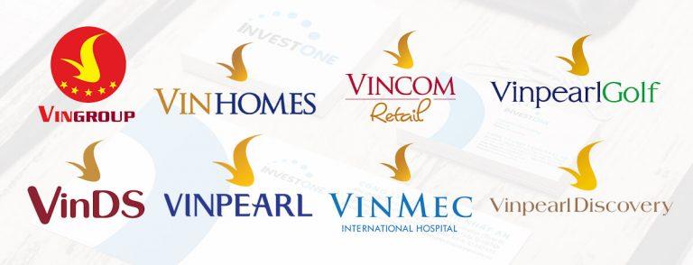 Nhãn hiệu liên kết của tập đoàn VinGroup