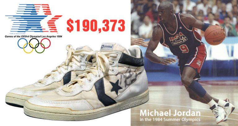 Converse Fastbreak Mid Michael Jordan in Olympics 1984
