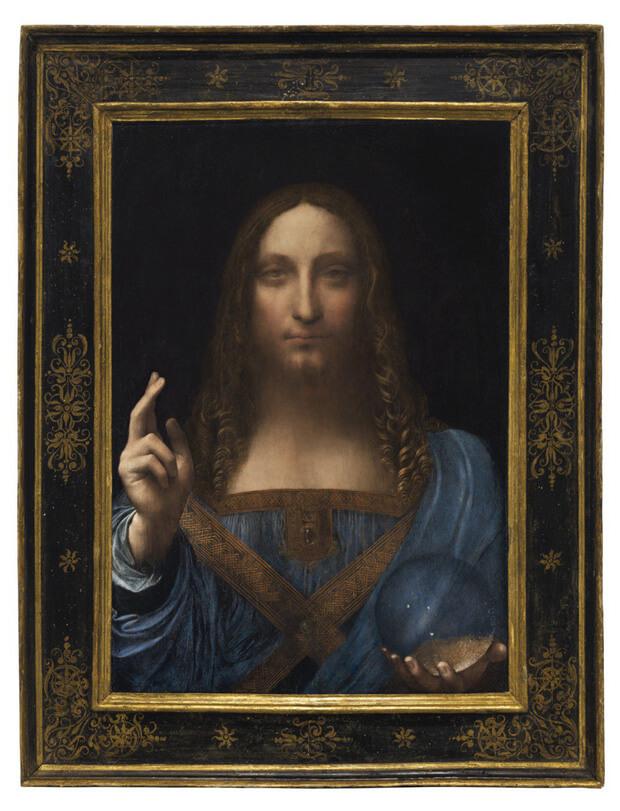 Bức tranhSalvator Mundi (Đấng Cứu Thế)